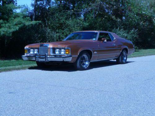 Mercury Cougar XR7 1973 002110