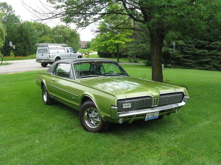 1969 Mercury Cougar CJ428 00696210