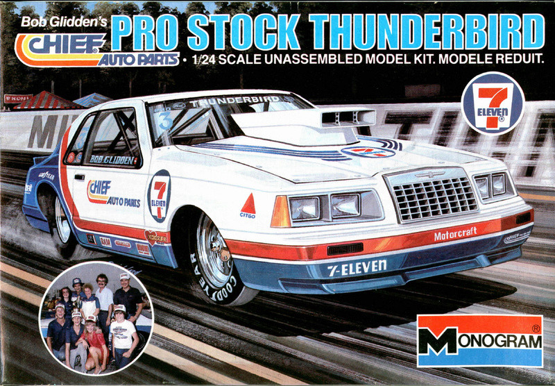 Phare Thunderbird pro stock 1984 41162310
