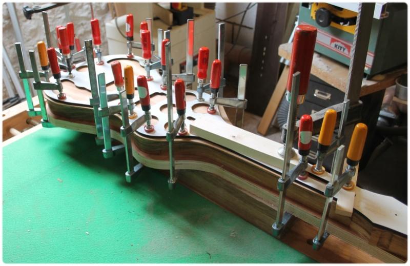 Lap steel - Atelier de lutherie E.Romont Lapste14
