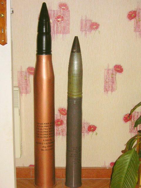 Caisse obus Char Tigre 88-de-11