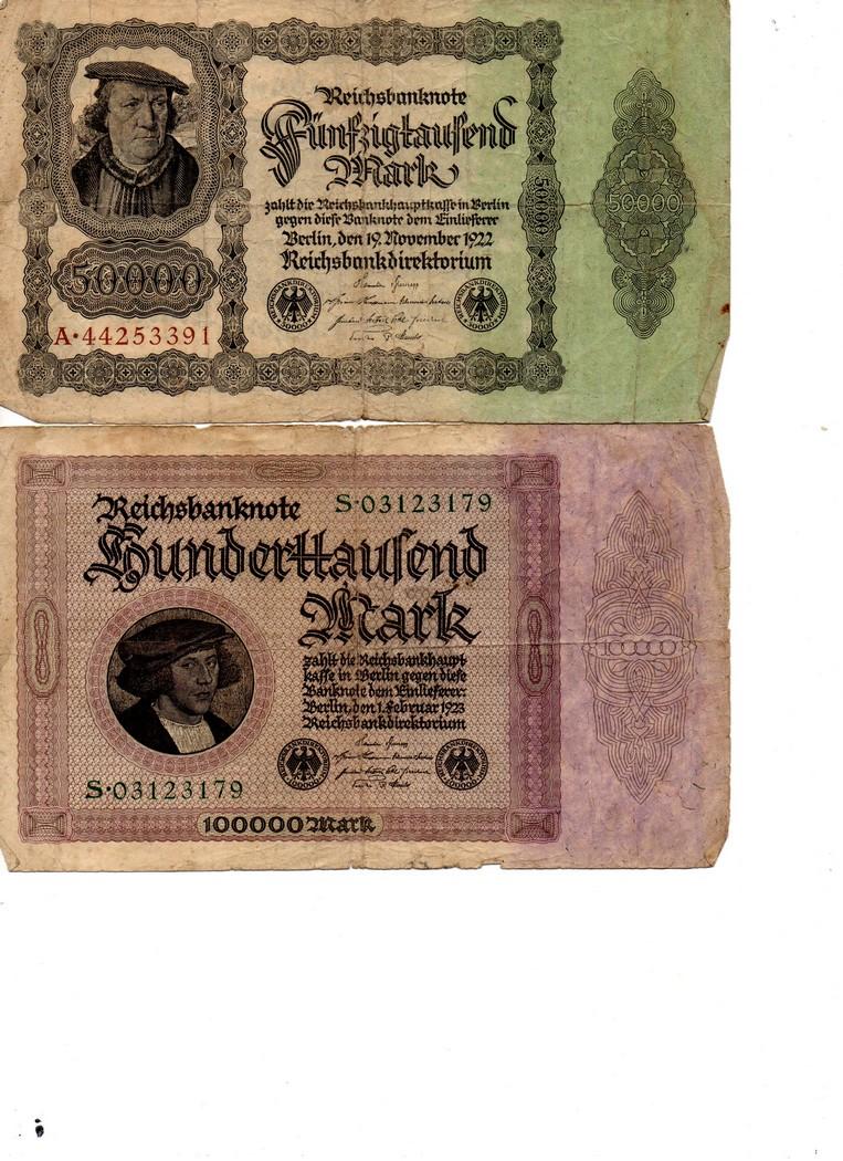 Billet de 5 et 50 Rm Billet13
