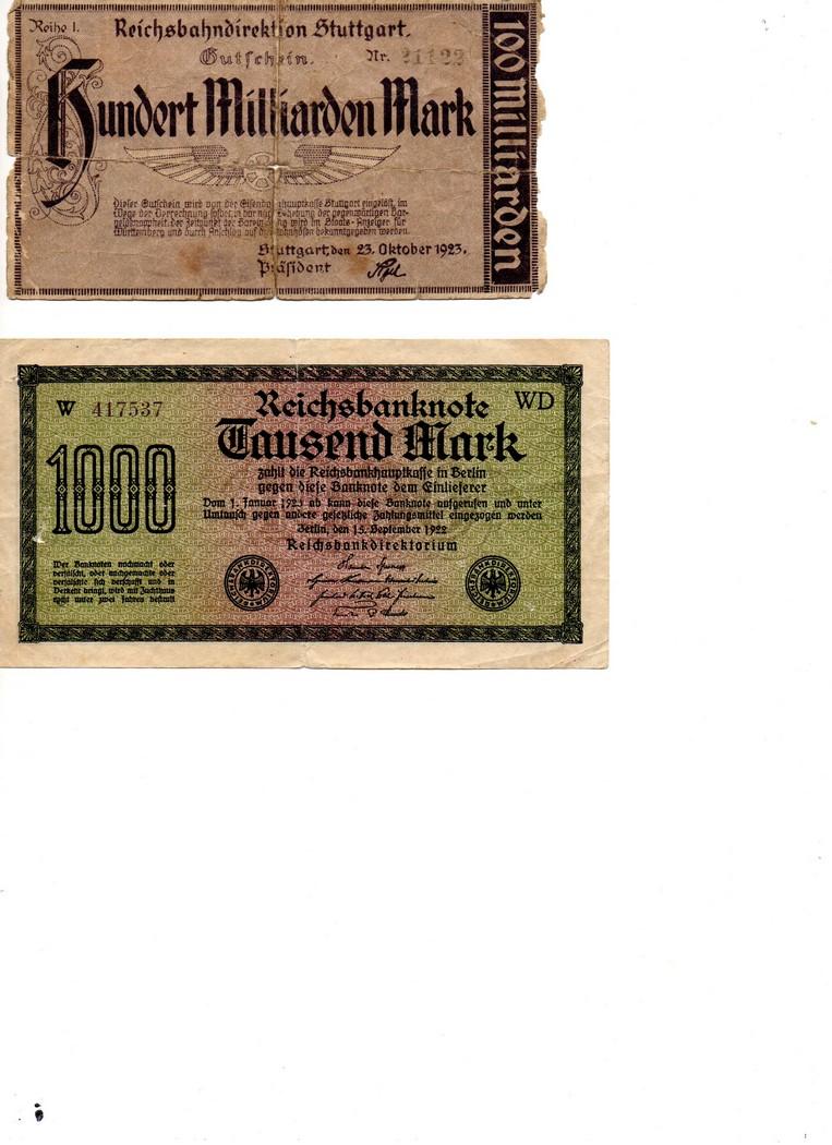 Billet de 5 et 50 Rm Billet16