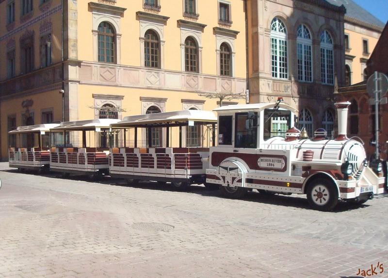 Petit train touristique d'Obernai  Dsc05613