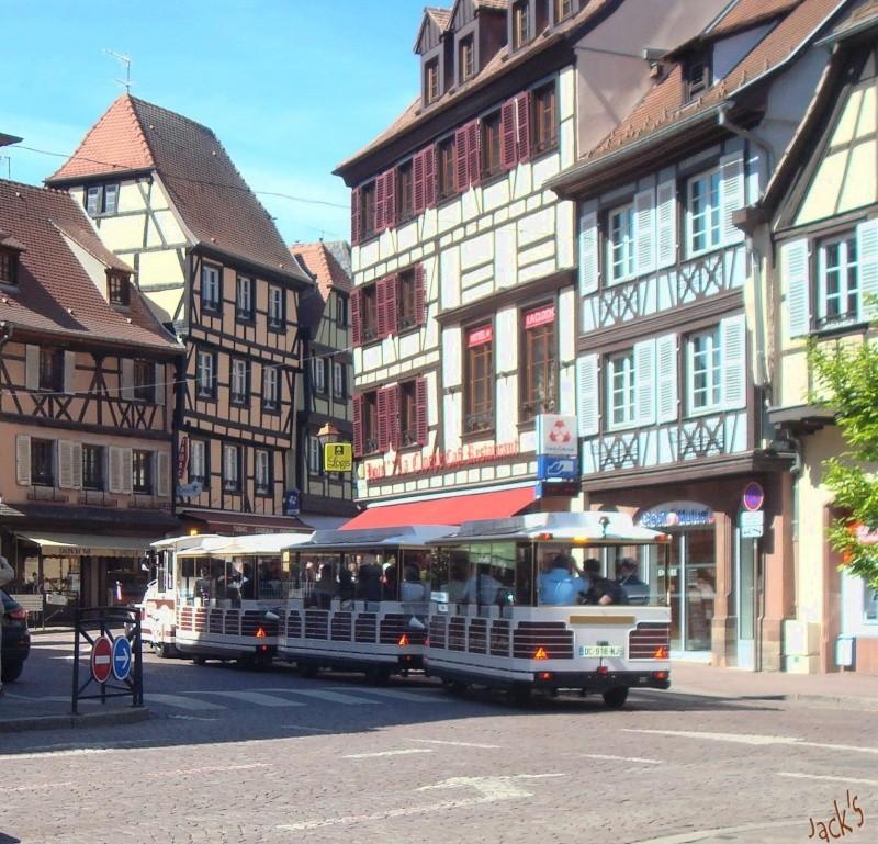Petit train touristique d'Obernai  Dsc05614