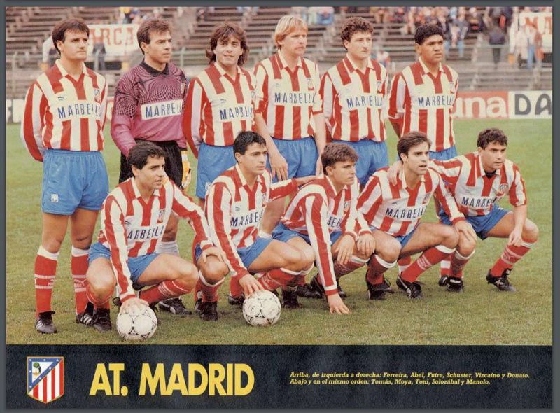 Atlético de Madrid 92-93 Atlett10