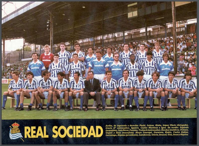 Real Sociedad 1992-1993 Realso10