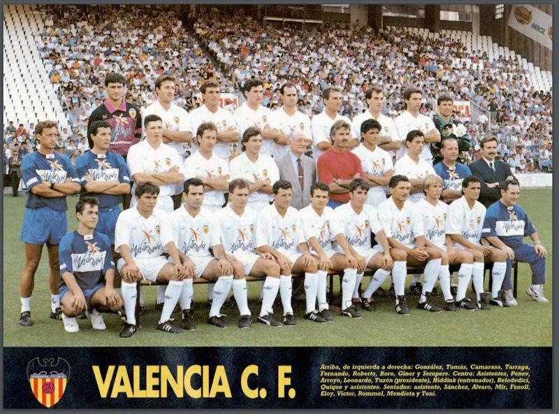 Valencia CF - 92-93 Valenc10