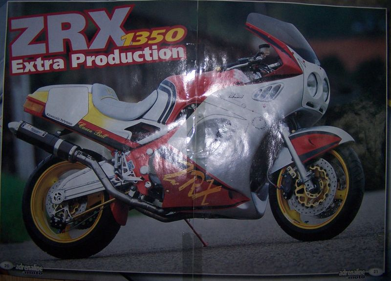 """1000 ZRX N°126 """"Canon Ball"""" Pub110"""