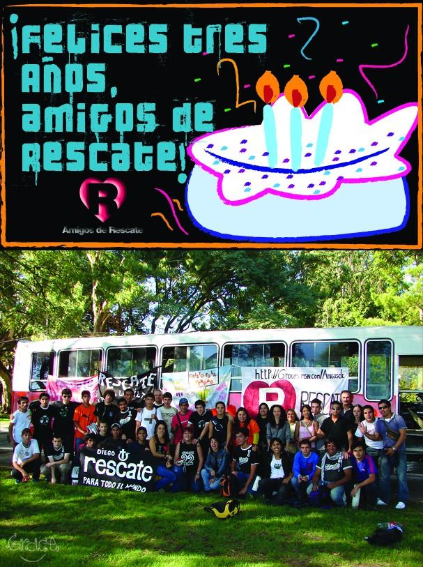 ¡Feliz cumpleaños, Amigos de Rescate! Felice10