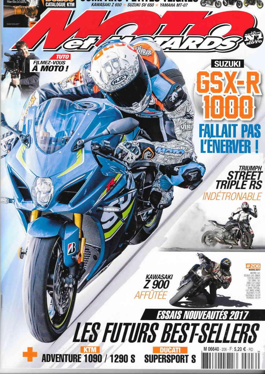 Livre, Magazine, En kiosque, Presse Spécialisée, Canard Moto, Bouquin  - Page 16 Filena10