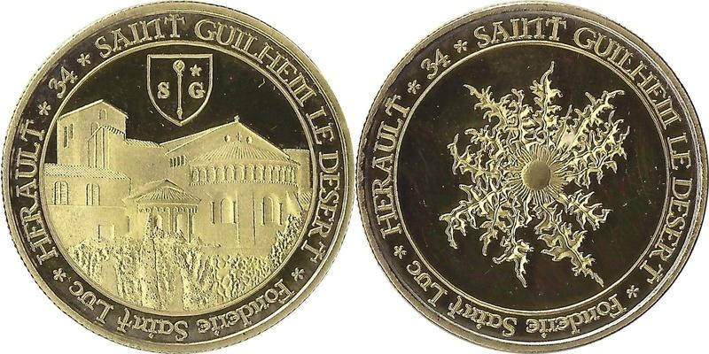 Saint-Guilhem-le-Désert (34150)  [Abbaye de Gellone / Pont du Diable] 3410