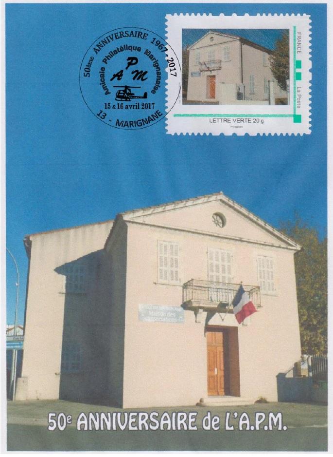 13 - Marignane - Amicale philatélique Apm10