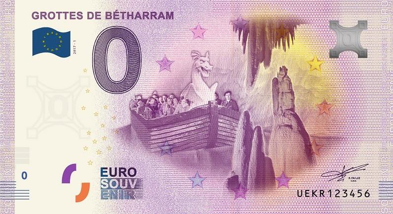 Billets 0 € Souvenirs = 75 Bethar10