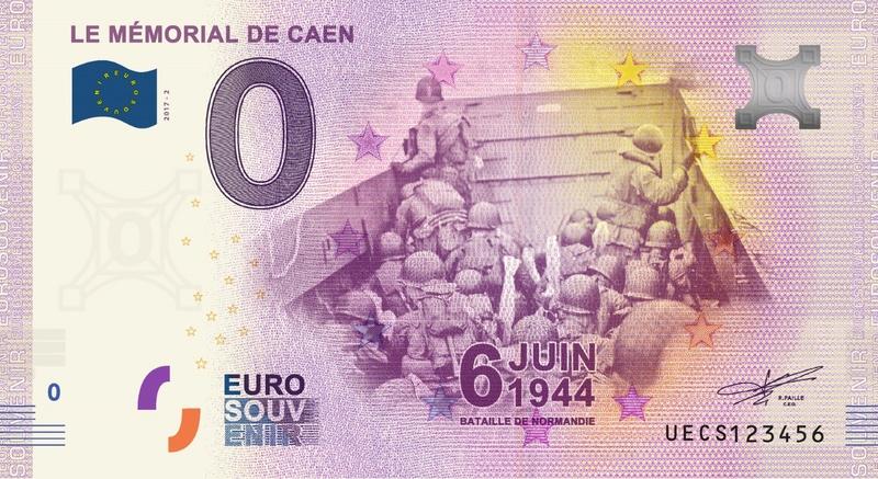 Billets 0 € Souvenirs = 65 Caen-10