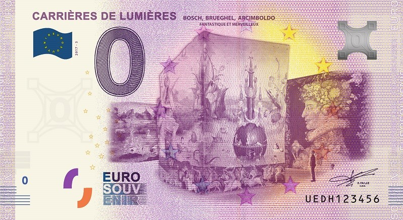 Billets 0 € Souvenirs  [SUD = 62] Carrie10