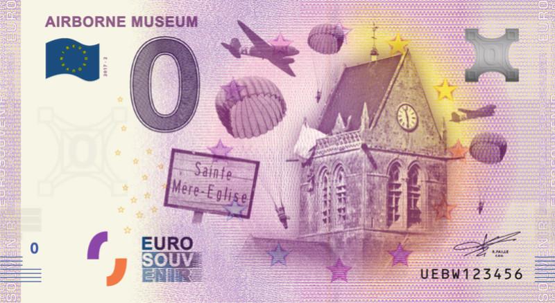 Billets 0 € Souvenirs [Normandie = 51] Fra_bw10