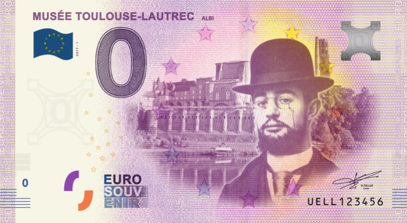 Albi (81000)  [Toulouse-Lautrec UELL] Fra_ll10