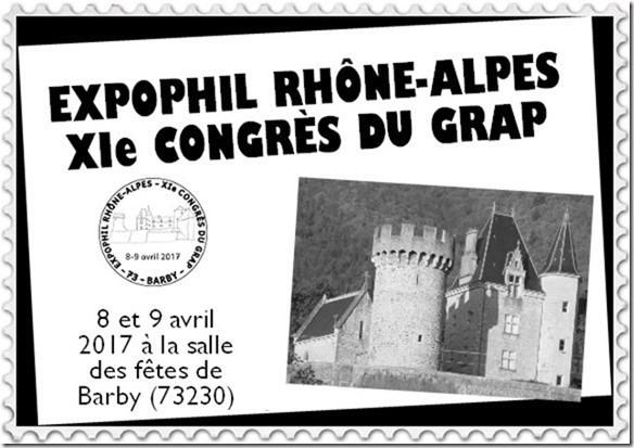 73 - Chambéry - Club Philatélique de Savoie Grap10