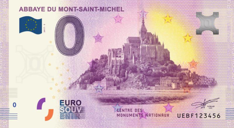 Billets 0 € Souvenirs [Normandie = 51] Mont10
