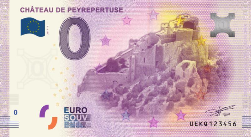 Billets 0 € Souvenirs = 80 Peyrep10