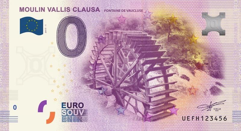 Billets 0 € Souvenirs  [SUD = 62] Thumbn13