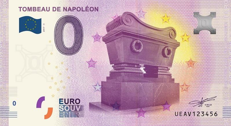 Billets 0 € Souvenirs  [Paris = 81] Tombea10
