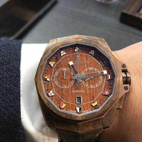 corum - [News] Corum Admiral AC-One 45 chrono bronze 17265510