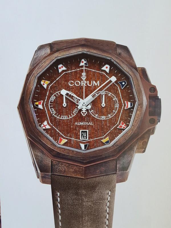 corum - [News] Corum Admiral AC-One 45 chrono bronze 20170618