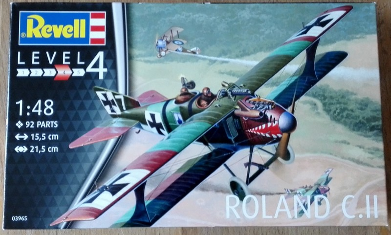 LFG Roland C.II (Revell 1/48) Colis010