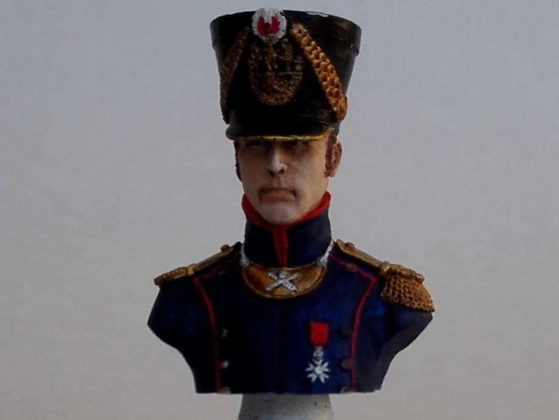 Buste d'officier d'artillerie de ligne (Historex au 1/15, peinture à l'acrylique) Offart10