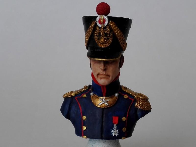Buste d'officier d'artillerie de ligne (Historex au 1/15, peinture à l'acrylique) Offart14