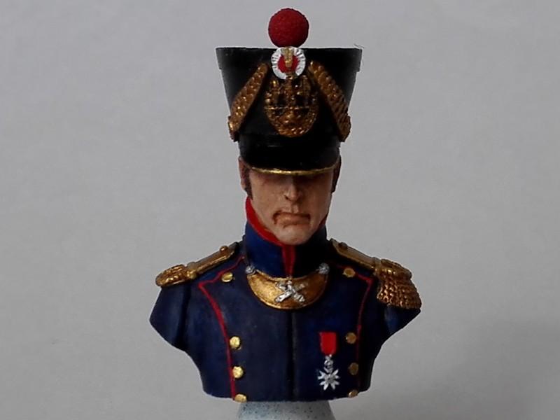 Buste d'officier d'artillerie de ligne (Historex au 1/15, peinture à l'acrylique) Offart15