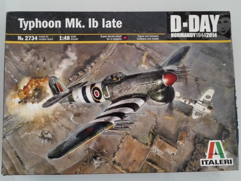 Hawker Typhoon Mk Ib (Hasegawa, pardon Italeri au 1/48) Tophe014