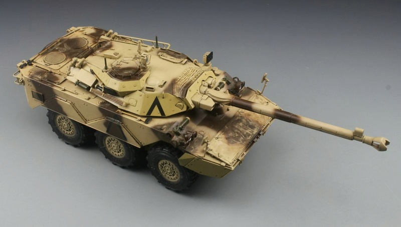 tiger - Nagmachon, AMX-10 RC Daguet, Leopard II Tiger Model, 1/35 4609-013