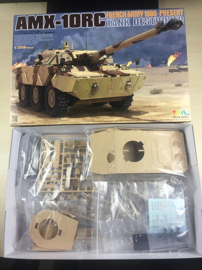 tiger - Nagmachon, AMX-10 RC Daguet, Leopard II Tiger Model, 1/35 4609-015