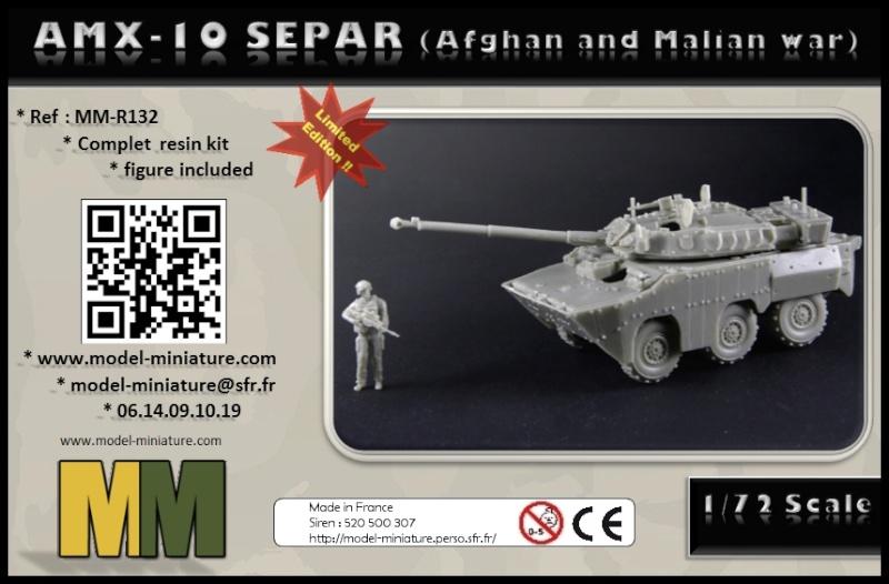 vbci - AMX-10 Separ, roue de VBCI et VAB, 1/72 et 1/35 chez Model Miniature Amx-1010