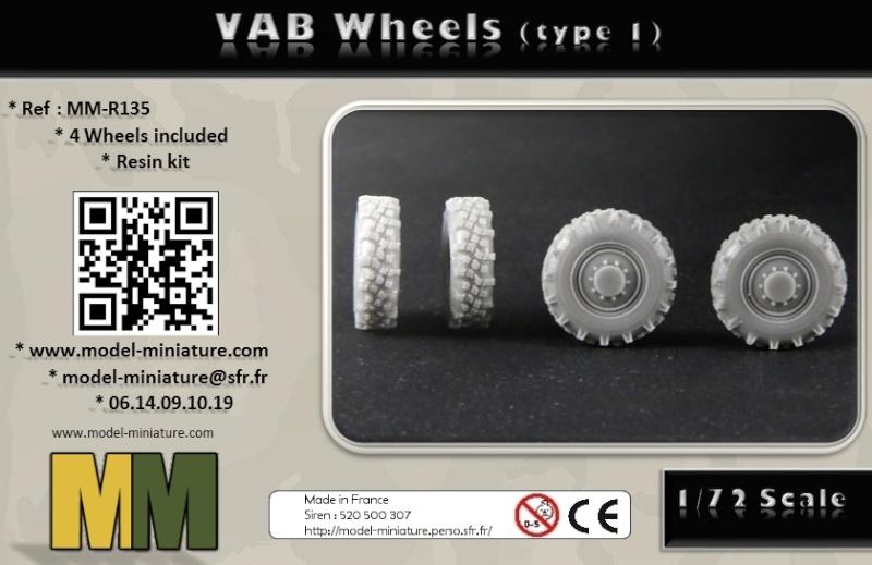 vbci - AMX-10 Separ, roue de VBCI et VAB, 1/72 et 1/35 chez Model Miniature Vab_wh10