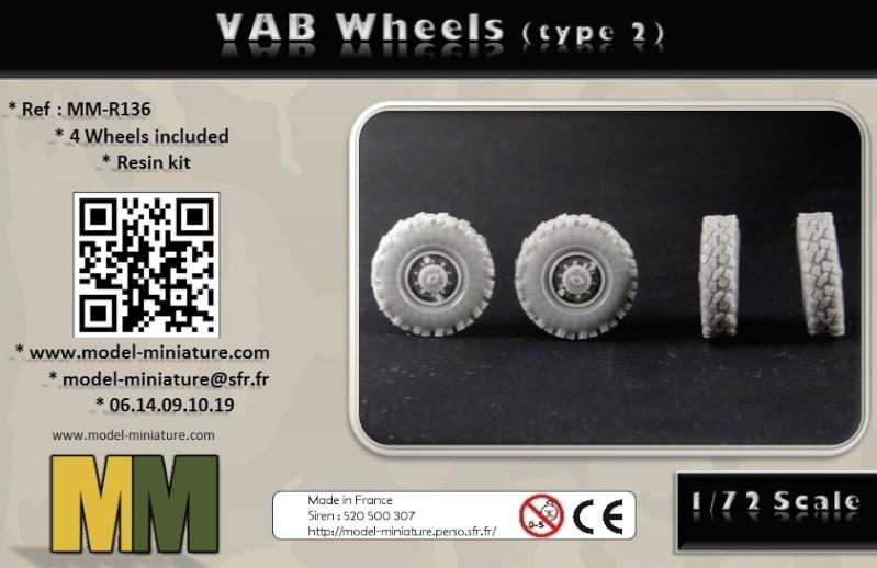 vbci - AMX-10 Separ, roue de VBCI et VAB, 1/72 et 1/35 chez Model Miniature Vab_wh11
