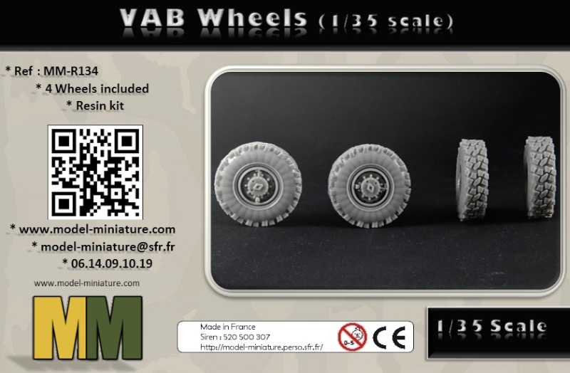vbci - AMX-10 Separ, roue de VBCI et VAB, 1/72 et 1/35 chez Model Miniature Vab_wh12