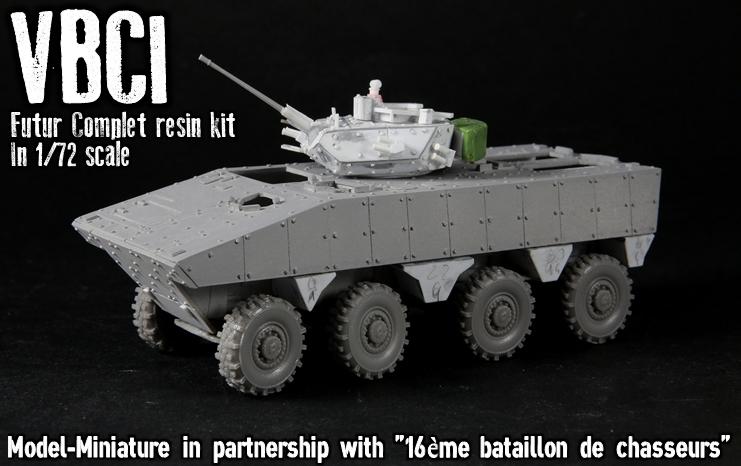 vbci - Master VBCI au 1/72, Model Miniature Vbci110