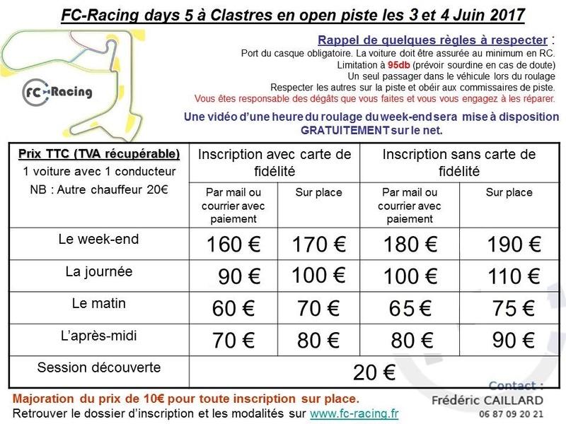 [clastres] FC racing days 5 les 3 et 4 juin 2017 Fcrd510