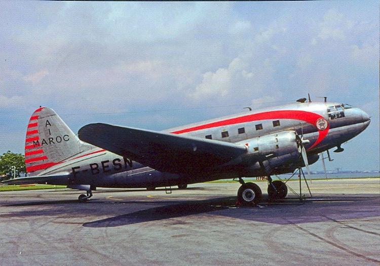Air Maroc - 1947 à 1953 00711