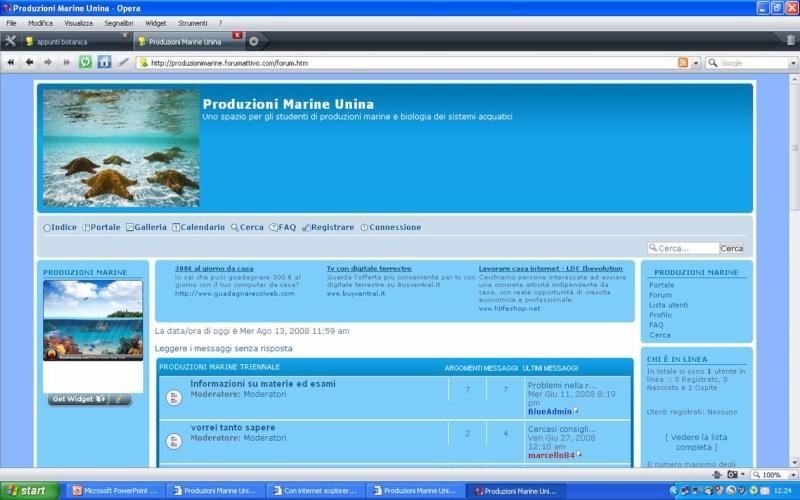 Problemi visualizzazione Forum con Explorer - Pagina 3 Opera10