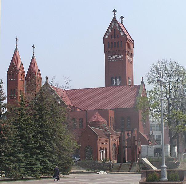 The Red Church, Minsk - Biélorussie 605px-10