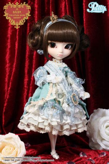 Février 2014 : Pullip La robe vert clair P113-210