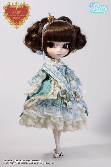 Février 2014 : Pullip La robe vert clair P113-310