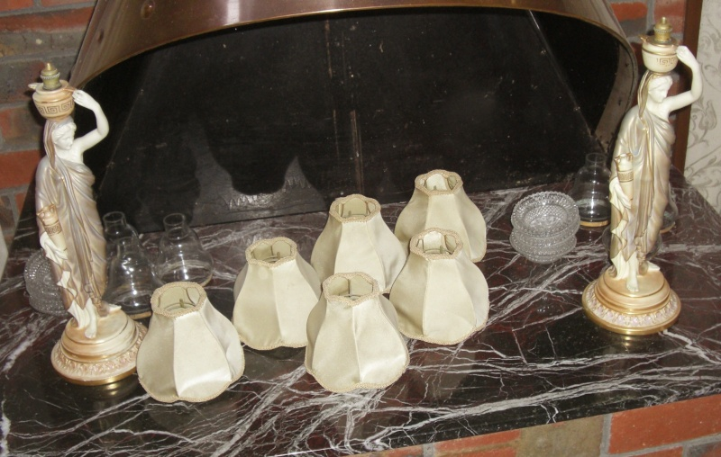 Royal Worcester Cricklites - Pair - three lamps 004_fo10