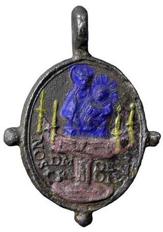 Virgen a identificar / Crucifixión  (R.M. SXVII-O428) 250e8010