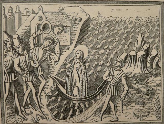Virgen a identificar / Crucifixión  (R.M. SXVII-O428) Nd_bou10